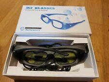 3D TV Active Shutter Rechargeable Glasses For Panasonic TV's