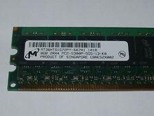 MICRON 1 x 8GB 2Rx4 PC2-5300P DDR2 667 ECC Memory for  AMD CPU server