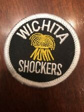 """Wsu Wichita Shockers Vintage Embroidered Iron On Patch 2"""" X 2 """" Awesome"""