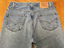 LEVIS 550 RELAXED FIT BLACK TAG VINTAGE JEANS SIZE 32 x 30 Tag 33 x 30 BEST A52