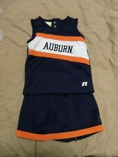 AUBURN UNIVERSITY TIGERS CHEERLEADER OUTFIT COSTUME TODDLER SIZE 4