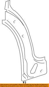 Dodge CHRYSLER OEM 07-09 Sprinter 2500 Fender-Lower Panel Right 68006330AA