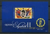 Gambia 2013 MNH Queen Elizabeth II Coronation 60th Anniv 1v S/S I Royalty Stamps