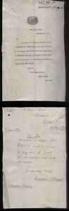 1877 DERBY, TOWN HALL LETTER WITH ILLUSTRATED VIGNETTE WITH STAG. JOHN GADSBY