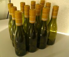 72 EMPTY WINE BOTTLES 375 ml BURGUNDY STYLE( screw cap )