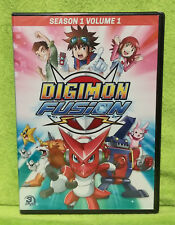 Digimon Fusion: Season 1 - Volume 1 (DVD, 2015, 3-Disc Set) - BRAND NEW