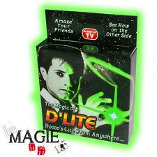 2 x D'lite VERT (1 Paire) - Faux pouce Lumineux - Ghost light - Tour de Magie