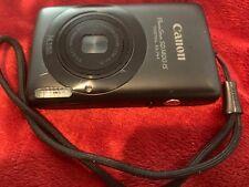 Canon PowerShot Digital ELPH SD1400 IS IXUS 130 Digital Camera - Black w Charger
