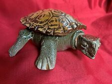 New listing Ceramic Turtle decanter By Natalie Surving, from her early Staten Island Studio