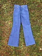 0a4e24d4 vintage 70s wrangler mens flare jeans size 26