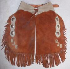 Vintage Western Leather Chinks Made by Dick Spencer III Western Horseman Mag