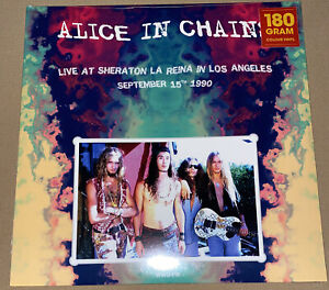 ALICE IN CHAINS!! LIVE AT SHERATON LA REINA!! 180 GRAM VINYL!! MINT SEALED!
