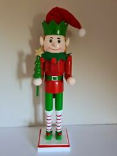 More details for wooden christmas nutcracker - soldier -  bear - elf - choice of six