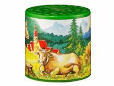 """Tierstimmendose Kuhdose Motiv """"Alpenmotiv"""" mit Kuhstimme Tierstimmen Dose"""