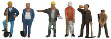 6022 Walthers SceneMaster Construction Workers Figures / People HO Scale
