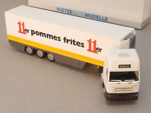 Rietze Somo Iveco Eurostar Sz Camion 11er Frites 1:87 Neuf ! Scellé 1609-24-41