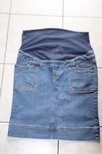 mini jupe grossesse en jean strech taille reglable La Redoute T40