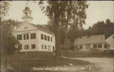 South Waterford ME Grange Hall c1910 Real Photo Postcard