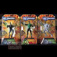 DC Universe Classics HAL JORDAN White BLACK Green LANTERN Set MATTEL Sold Out!