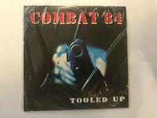 "Combat 84 Tooled Up 7"" Record Punk Rock Metal 45rpm SEALED SoCal rare"