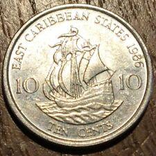 PIECE DE 10 CENTS EAST CARABBEAN 1986 (354)