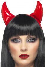 Red Devil Horns Sexy Ladies Halloween Costume Headband