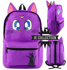 SAILOR MOON ZAINO SCUOLA LUNA bag borsa backpack cosplay gatto bunny chibiusa