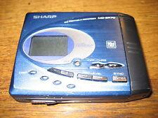 Sharp MD SR70 Silber Minidisc   ( 254) ok guter Ton