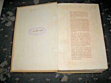UNCERTAIN GLORY MARGARET YEO HISTORICAL NOVEL SET IN 1600'S 1930 1ST EDITION
