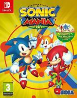 Sonic Mania Plus Nintendo Switch Game Artbook Included