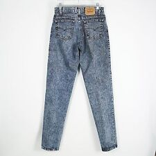 VTG USA Levis 550 High Rise Relaxed Tapered Stonewashed Blue Jeans Size 30x35