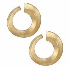 Earring Boho Festival Party Boutique Uk Gold Aztec Swirl Luxury Gift Fashion