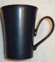 LARGE   DENBY  DARK BLUE    MUG   Stands  4 1/2  inches high, holds 12 ounces