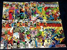 DEFENDERS #73-78,80-83,85-90 NM Hulk Valkyrie Dr. Strange 16 Marvel Comics 1979