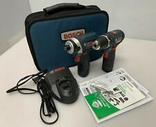 BOSCH PS31 & PS41 Combo Kit w/ 2 Batteries & Charger Drill Kit CLPK22-120