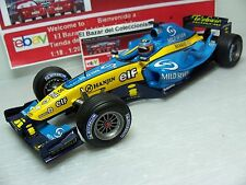 1:18 Renault F1 R24 2004 Fernando Alonso + MILD SEVEN - NO BOX   - HW - 3L 050