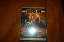 The Scorpion King (DVD, 2002, Widescreen)