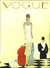 Vogue Cover Original Deco Print by Benito Authorized 1st Conde Nast Publication