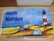 Fahnen Flagge Mein Norden - 90 x 150 cm