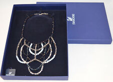 $410 Authentic Daniel Swarovski Crystal 1065666 Blue Medicis Glamour Necklace