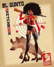 El gunto sketchbook #1 (Lenny valentino, fussilade, le plan) signed + lim.900 ex