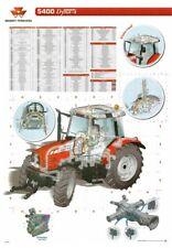Massey Ferguson Tractor 5400 DYNA 4 SALES BROCHURE/POSTER ADVERT A3