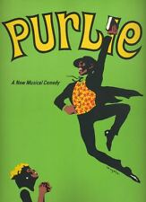 "Melba Moore & Linda Hopkins  ""Purlie""  Souvenir  Program  1970   OBC"