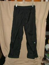 "Nike ACG mesh lined shell pants snow ski black nylon Cold weather layer M x 26"""