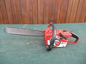 "Vintage HOMELITE SUPER MINI Chainsaw Chain Saw with 16"" Bar"
