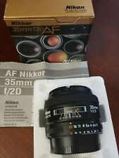 Wide Angle AF Nikkor 35mm f/2 D Autofocus Lens (FX)