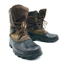 Sorel Brown Winter Snow Boot Removable Liner Mens Size 8