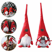 Christmas Santa Gnome Doll Tomte Swedish Elf Dwarf Xmas Tree Xmas Ornament Decor
