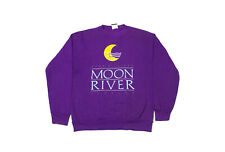 Vintage Andy Williams Moon River Theatre Sweatshirt Hoodie size Large Mens 90s