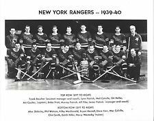 NEW YORK RANGERS 1939-40 NY 8X10 PHOTO HOCKEY NHL PICTURE STANLEY CUP CHAMPIONS